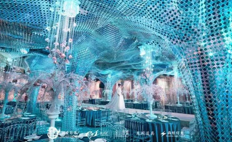 婚礼堂发布:蔡上作品,镇江首家百万级婚礼宴会厅  第8张