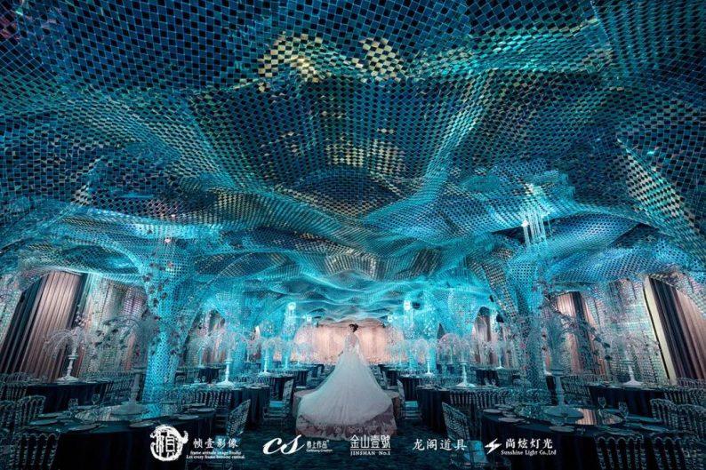 婚礼堂发布:蔡上作品,镇江首家百万级婚礼宴会厅  第10张
