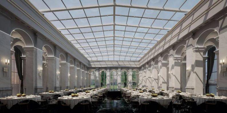 """婚礼堂发布:全景玻璃阳光厅!""""塞上江南""""的特色花园型宴会中心  第2张"""