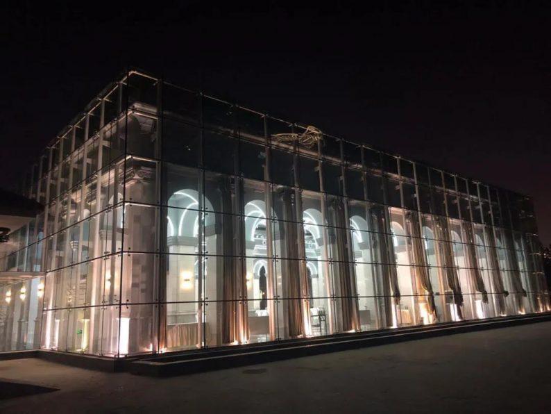 """婚礼堂发布:全景玻璃阳光厅!""""塞上江南""""的特色花园型宴会中心  第3张"""