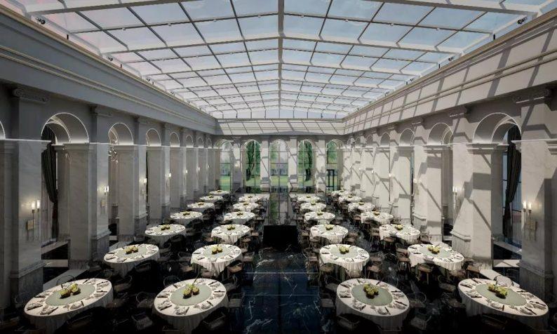 """婚礼堂发布:全景玻璃阳光厅!""""塞上江南""""的特色花园型宴会中心  第4张"""