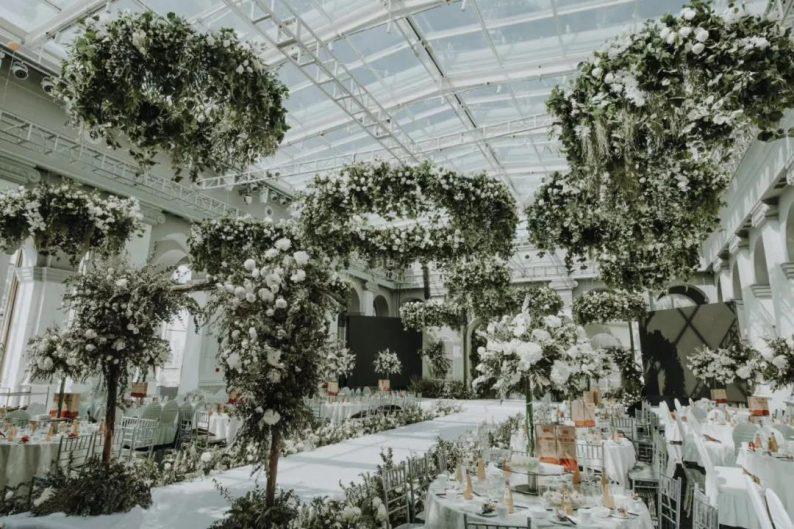 """婚礼堂发布:全景玻璃阳光厅!""""塞上江南""""的特色花园型宴会中心  第5张"""