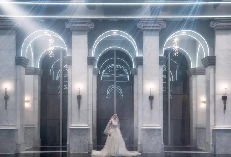 """婚礼堂发布:全景玻璃阳光厅!""""塞上江南""""的特色花园型宴会中心  第6张"""