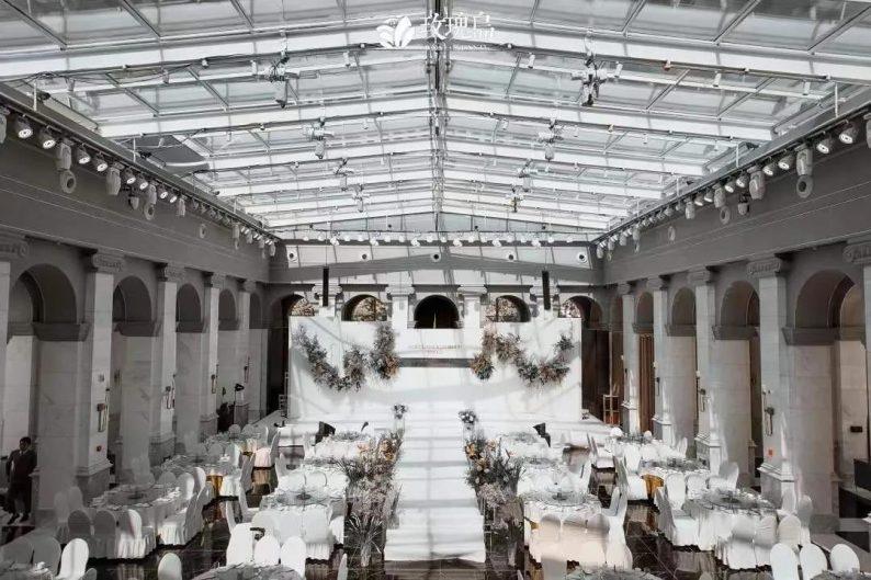 """婚礼堂发布:全景玻璃阳光厅!""""塞上江南""""的特色花园型宴会中心  第7张"""