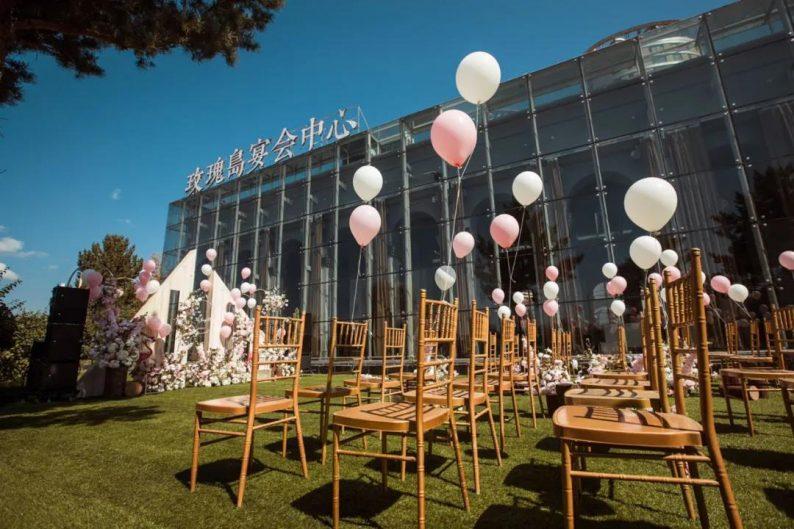 """婚礼堂发布:全景玻璃阳光厅!""""塞上江南""""的特色花园型宴会中心  第13张"""
