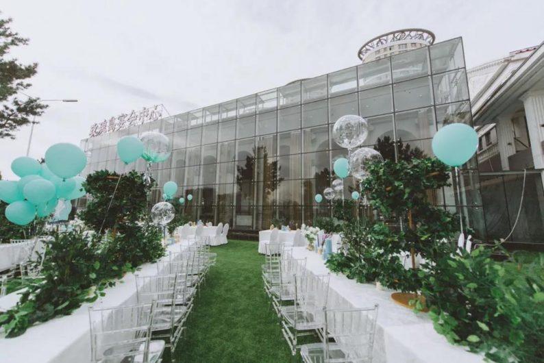 """婚礼堂发布:全景玻璃阳光厅!""""塞上江南""""的特色花园型宴会中心  第14张"""