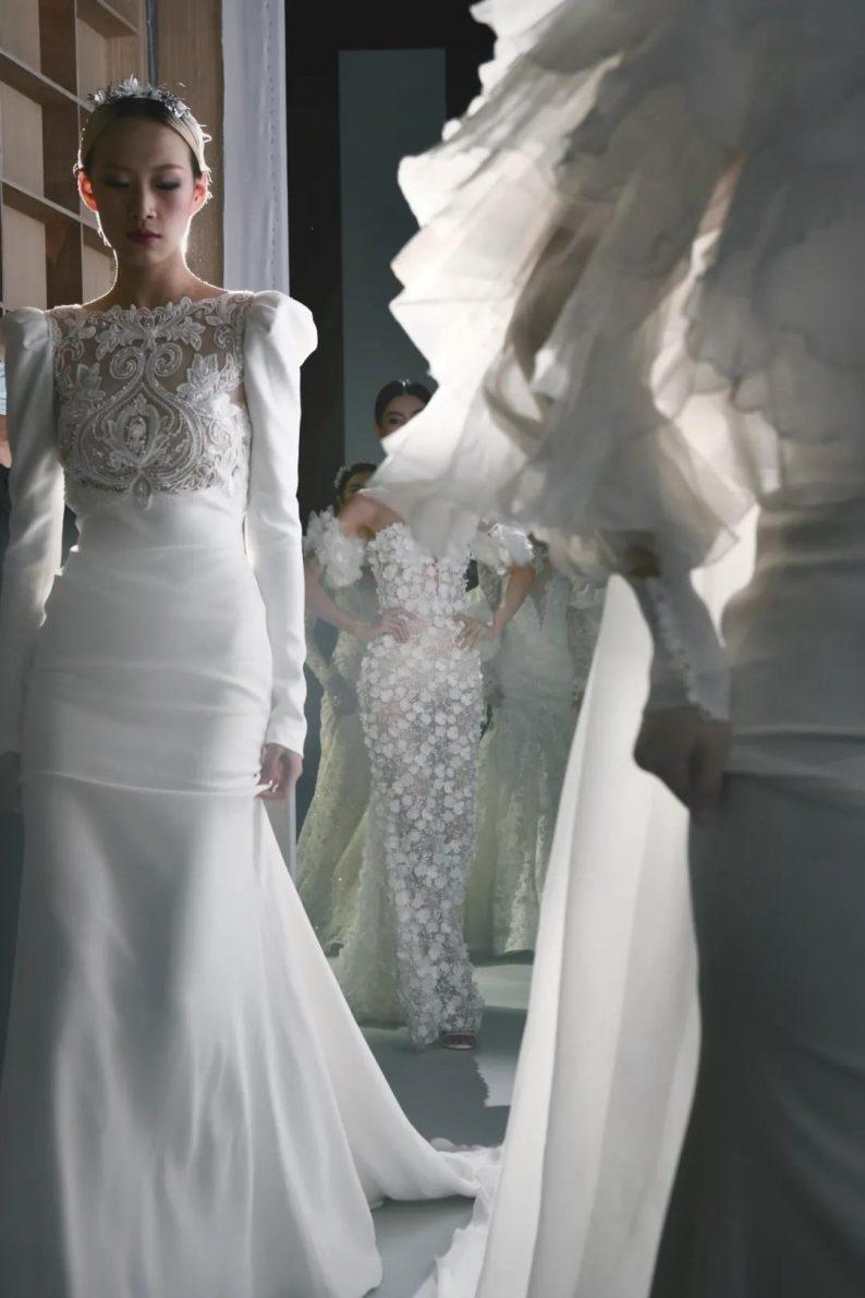 直击现场 | 全球顶级奢华婚纱亮相上海时装周  第4张