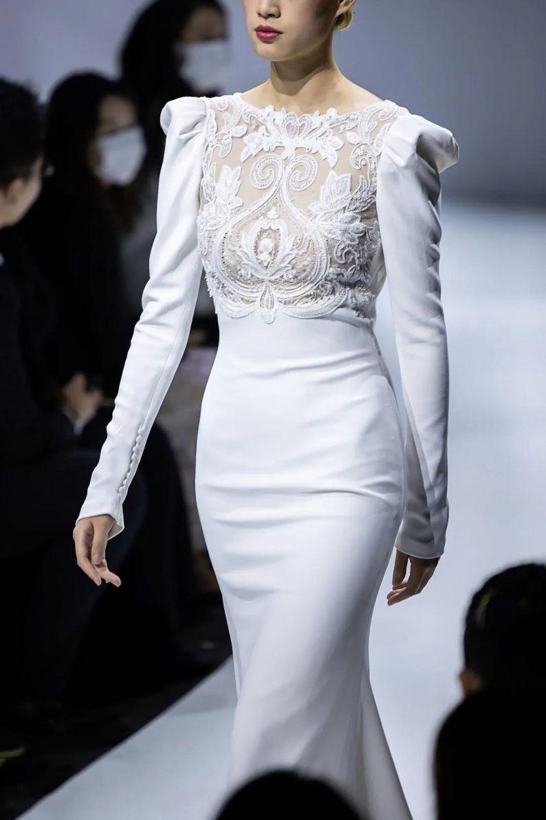 直击现场 | 全球顶级奢华婚纱亮相上海时装周  第7张