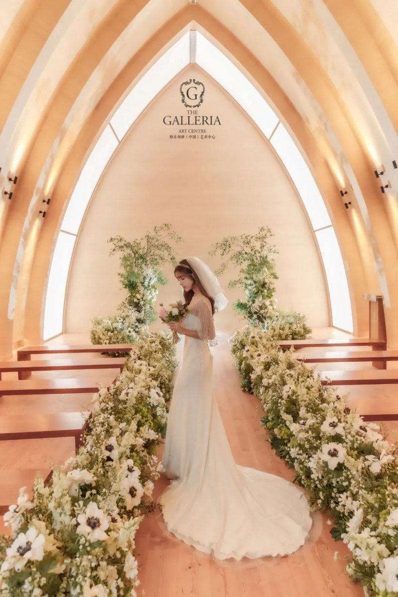 婚礼堂发布:格乐利雅杭州新店「 天空之城 」  第7张