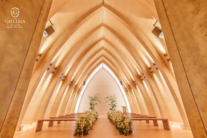 婚礼堂发布:格乐利雅杭州新店「 天空之城 」  第8张