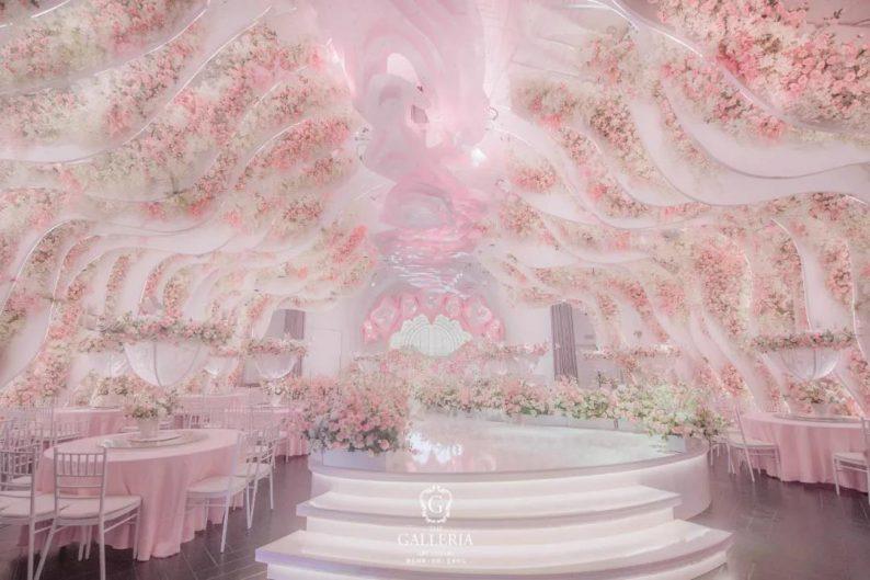婚礼堂发布:格乐利雅杭州新店「 天空之城 」  第10张
