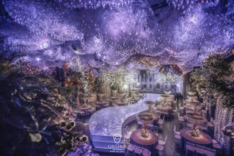 婚礼堂发布:格乐利雅杭州新店「 天空之城 」  第12张