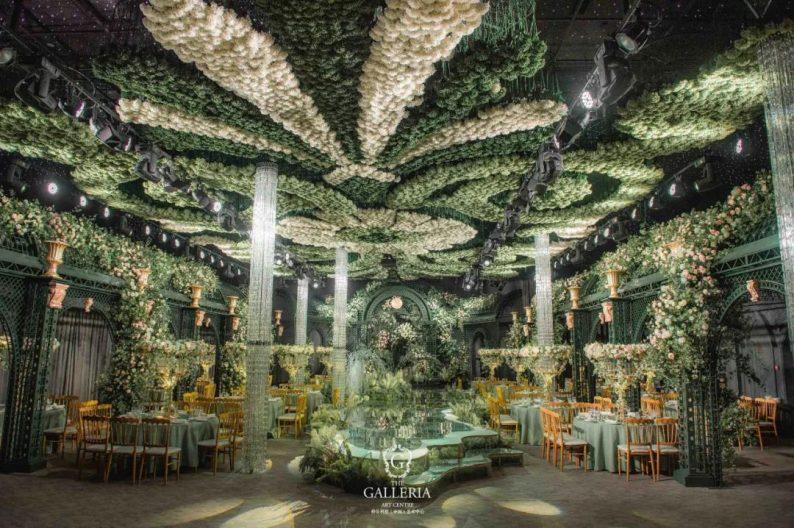婚礼堂发布:格乐利雅杭州新店「 天空之城 」  第13张