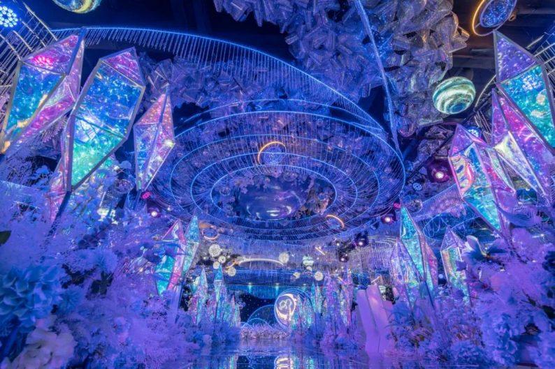 婚礼堂发布:最佳视觉奖!奥蓝酒店婚礼堂全新升级