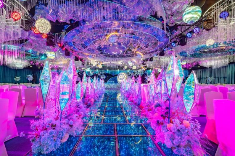 婚礼堂发布:最佳视觉奖!奥蓝酒店婚礼堂全新升级  第2张