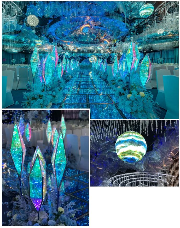 婚礼堂发布:最佳视觉奖!奥蓝酒店婚礼堂全新升级  第3张