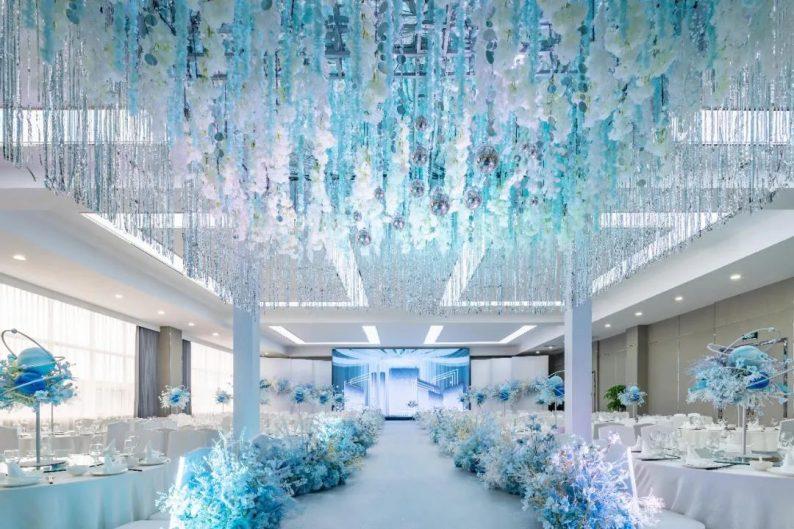 婚礼堂发布:最佳视觉奖!奥蓝酒店婚礼堂全新升级  第7张