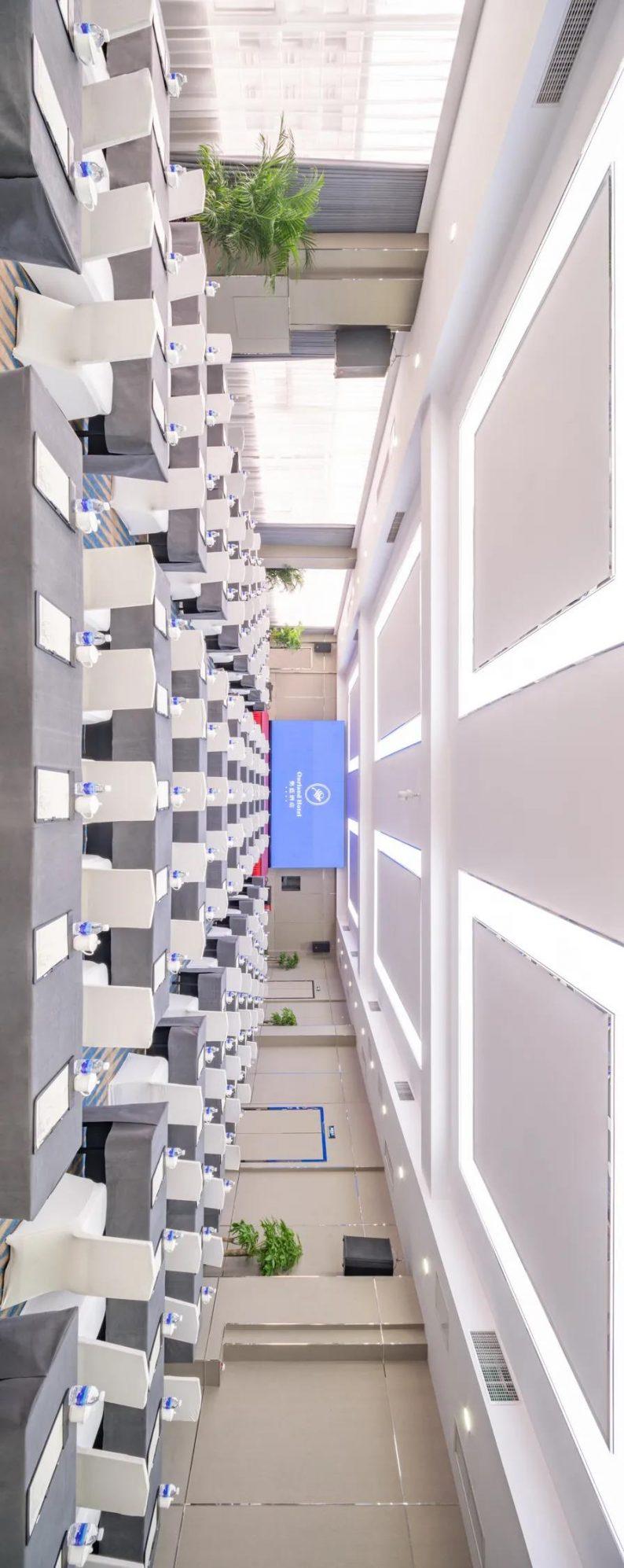 婚礼堂发布:最佳视觉奖!奥蓝酒店婚礼堂全新升级  第12张