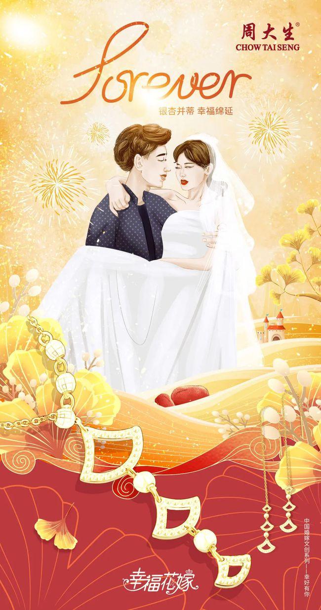 中国婚嫁文化与现代艺术的碰撞!周大生探索文创营销新玩法  第5张