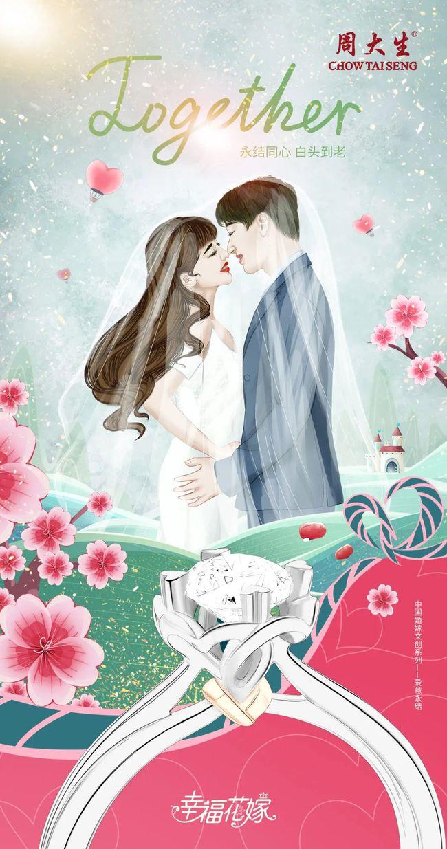 中国婚嫁文化与现代艺术的碰撞!周大生探索文创营销新玩法  第2张