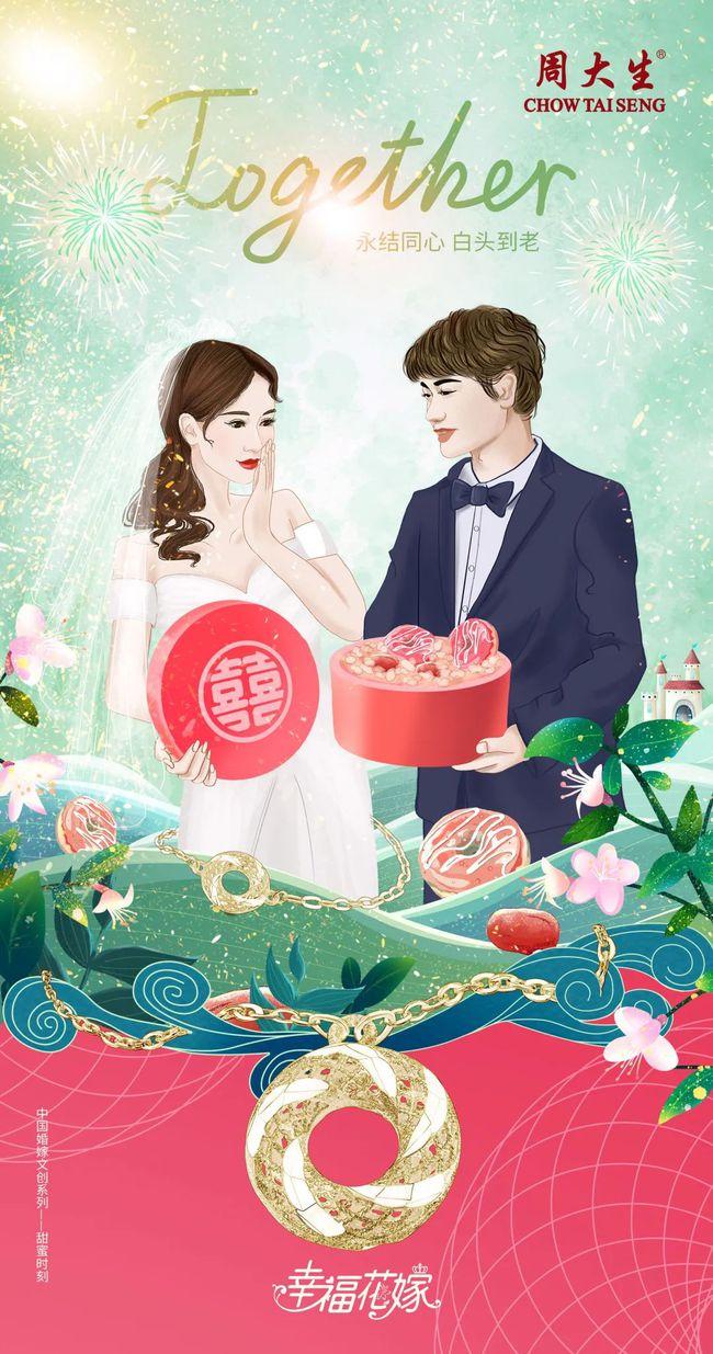 中国婚嫁文化与现代艺术的碰撞!周大生探索文创营销新玩法  第3张