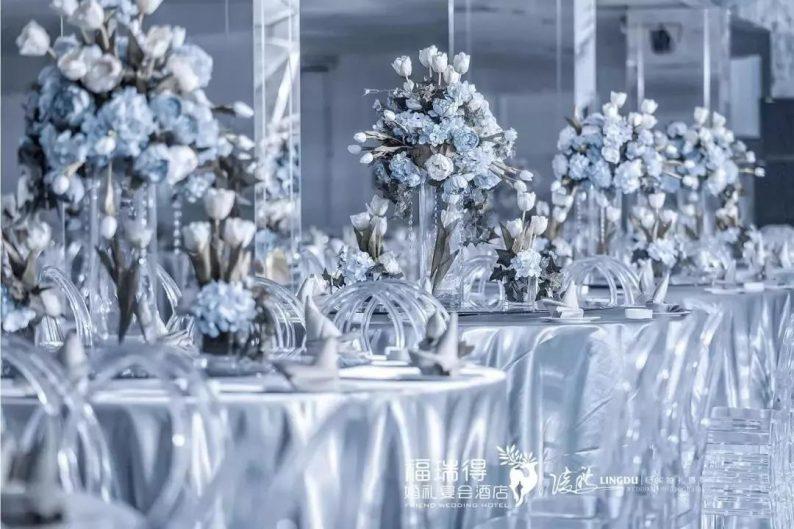 婚礼堂发布:8大宴会厅!打卡太原一站式婚礼宴会酒店  第2张