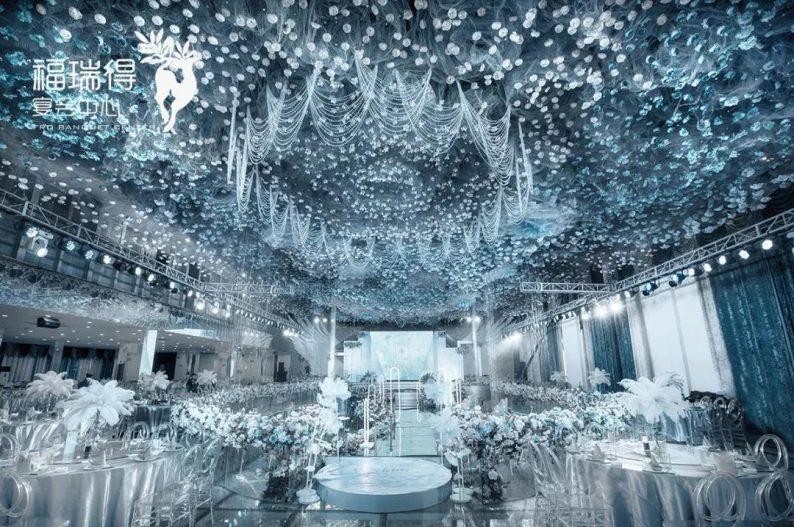 婚礼堂发布:8大宴会厅!打卡太原一站式婚礼宴会酒店  第4张
