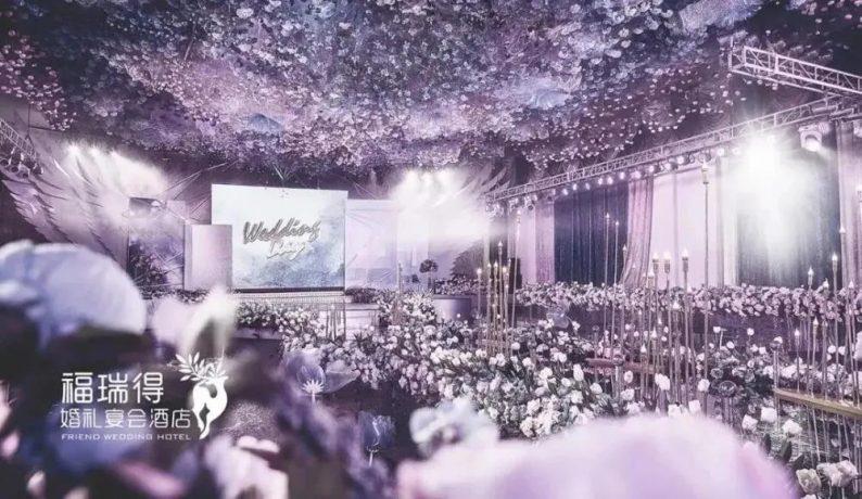 婚礼堂发布:8大宴会厅!打卡太原一站式婚礼宴会酒店  第9张