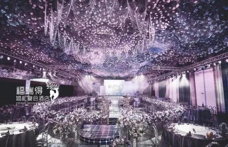 婚礼堂发布:8大宴会厅!打卡太原一站式婚礼宴会酒店  第10张