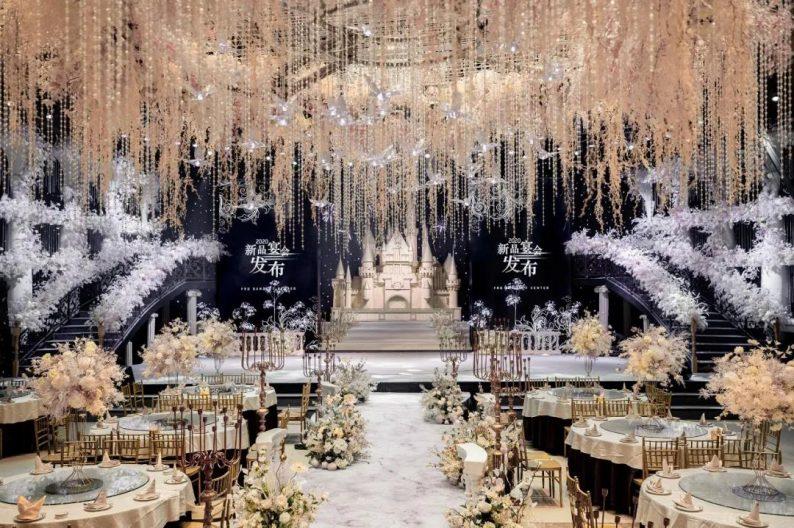 婚礼堂发布:8大宴会厅!打卡太原一站式婚礼宴会酒店  第14张