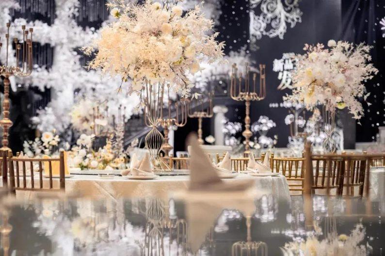 婚礼堂发布:8大宴会厅!打卡太原一站式婚礼宴会酒店  第17张