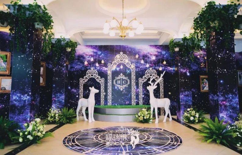 婚礼堂发布:8大宴会厅!打卡太原一站式婚礼宴会酒店  第40张
