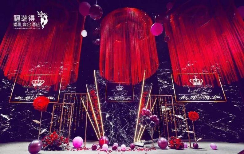 婚礼堂发布:8大宴会厅!打卡太原一站式婚礼宴会酒店  第45张
