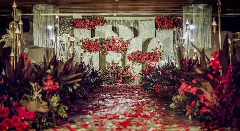 婚礼堂发布:8大宴会厅!打卡太原一站式婚礼宴会酒店  第48张