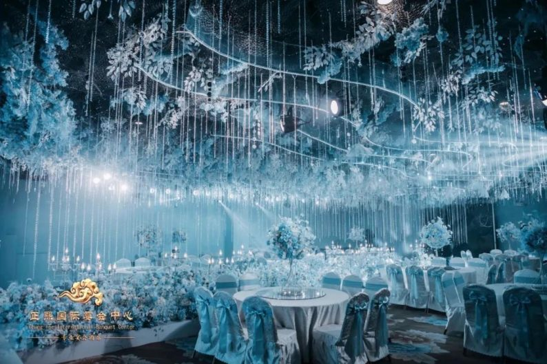 婚礼堂发布:5大宴会厅,银川金凤区首家主题宴会酒店  第3张