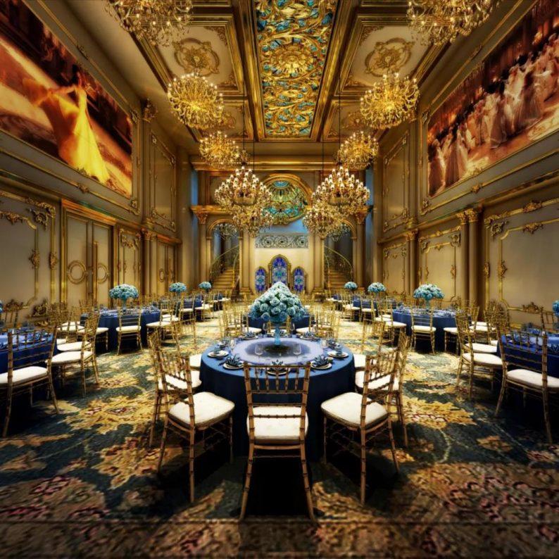 婚礼堂发布:二十多年老牌宴会酒店,6店连锁、经营面积3.9万方  第3张