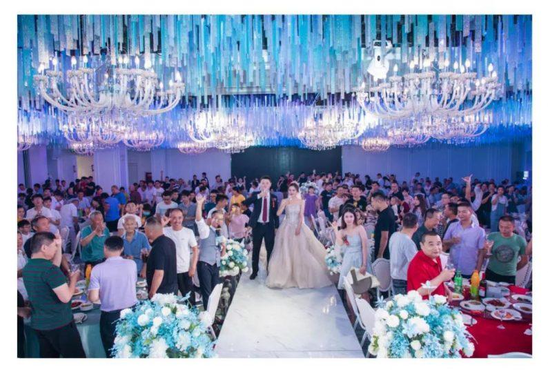 婚礼堂发布:二十多年老牌宴会酒店,6店连锁、经营面积3.9万方  第21张