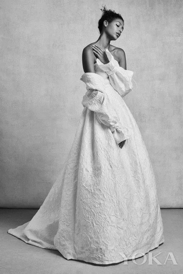 抛弃限制,你最想要的婚纱到底什么样?  第22张