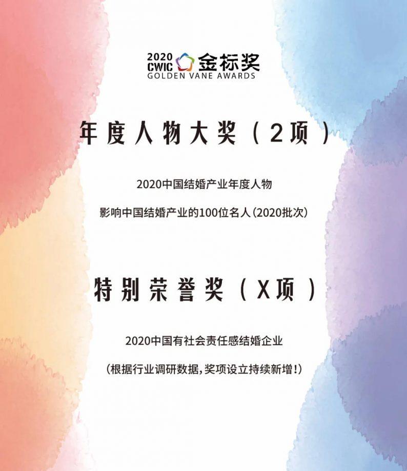 2020年度人物大奖,开放申请!| 金标奖  第2张