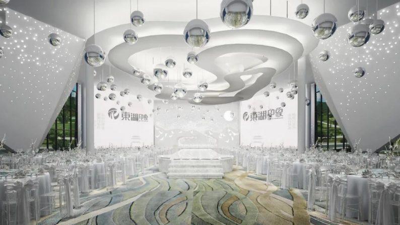 婚礼堂发布:沉浸式体验!东湖印象婚礼艺术中心初相见  第7张