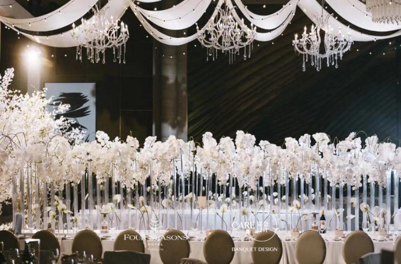 一场自带BGM出场的韩式婚礼!  第4张