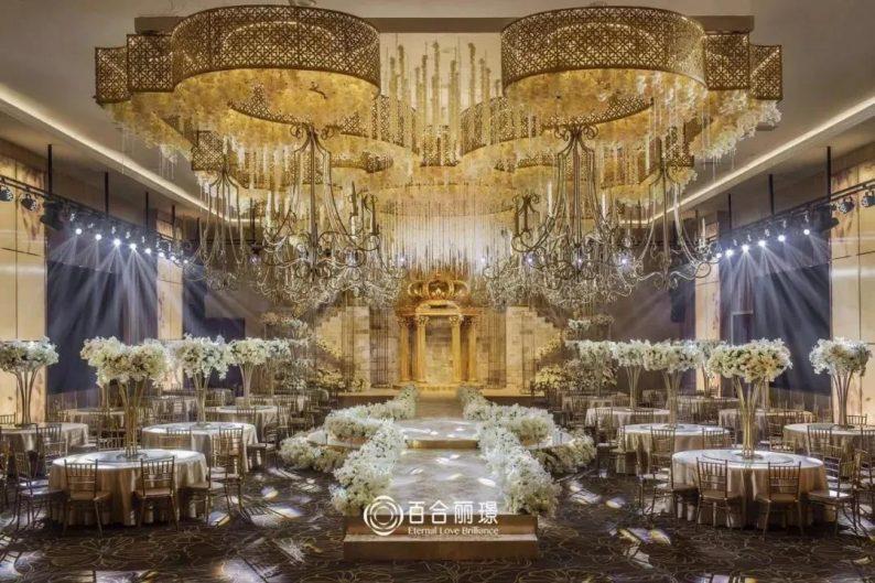 婚礼堂发布:斥资百万打造!天津4000平婚礼圣殿  第10张