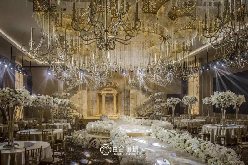婚礼堂发布:斥资百万打造!天津4000平婚礼圣殿  第11张