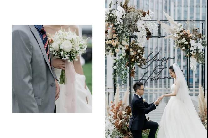 小而精致!秋冬小型婚礼灵感分享  第2张