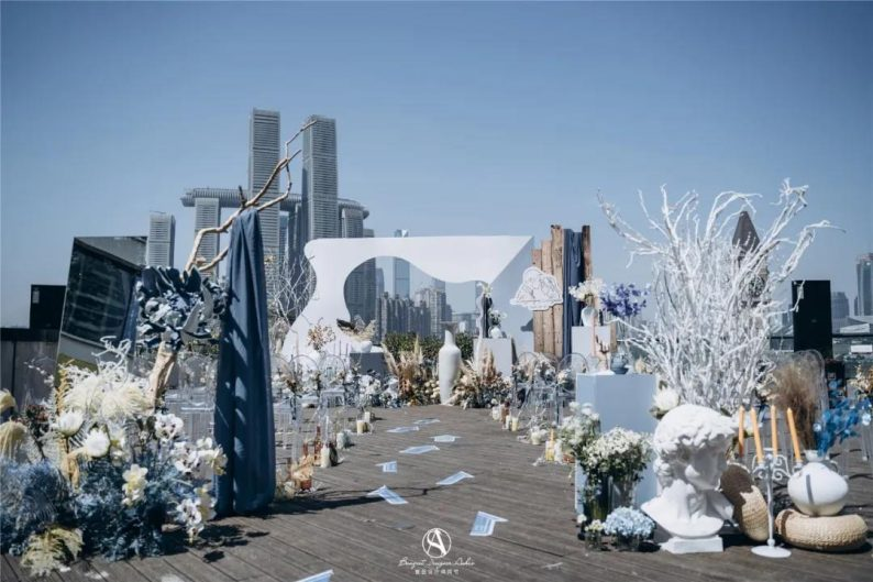 小而精致!秋冬小型婚礼灵感分享  第25张
