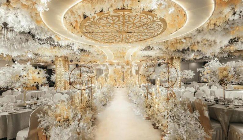 婚礼堂发布:超1000平米!餐饮酒店打造全新主题宴会厅