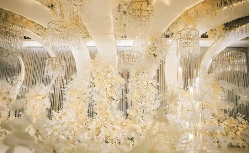 婚礼堂发布:超1000平米!餐饮酒店打造全新主题宴会厅  第2张