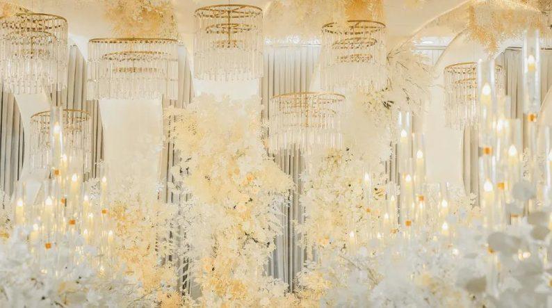 婚礼堂发布:超1000平米!餐饮酒店打造全新主题宴会厅  第3张