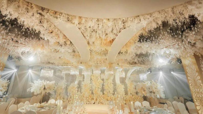 婚礼堂发布:超1000平米!餐饮酒店打造全新主题宴会厅  第4张