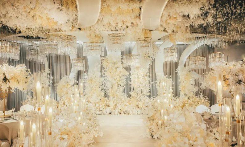 婚礼堂发布:超1000平米!餐饮酒店打造全新主题宴会厅  第6张